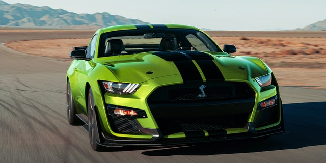 The 760 hp Mustang Shelby GT500 is the most-powerful Ford ever made.