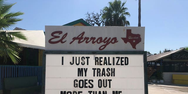 The eatery started sharing the silly signs in the 1980s, in an art that's only gotten better with age.