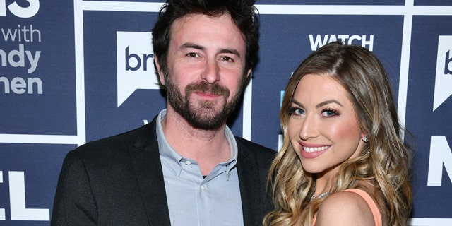 Stassi Schroedertied the knot with fiancé Beau Clark in September.<br> (Photo by: Charles Sykes/Bravo/NBCU Photo Bank via Getty Images)