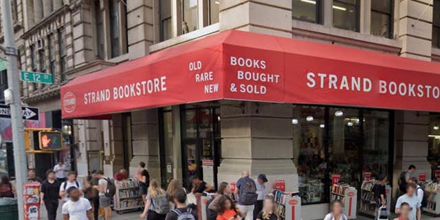 The Strand bookstore in New York City