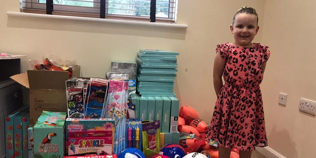 Pippa Jackson had a bad dream about kids having no presents on Christmas Day — so she started putting together care packages.