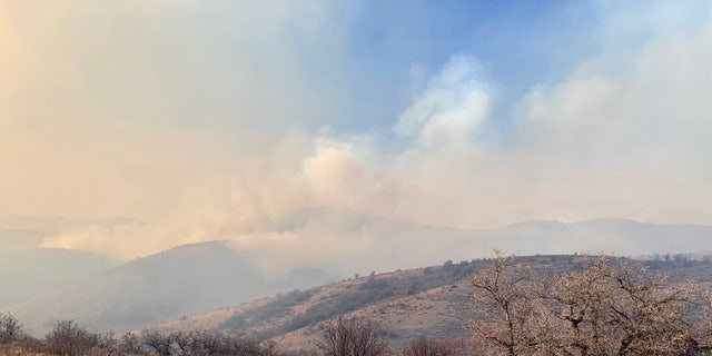Fire Canyon Fire photo fr. Utah DWR Twitter