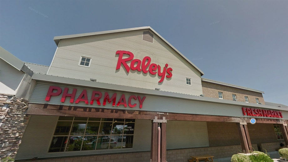 Nevada man living in supermarket's rafters alerts staff of his location after his foot busts through ceiling