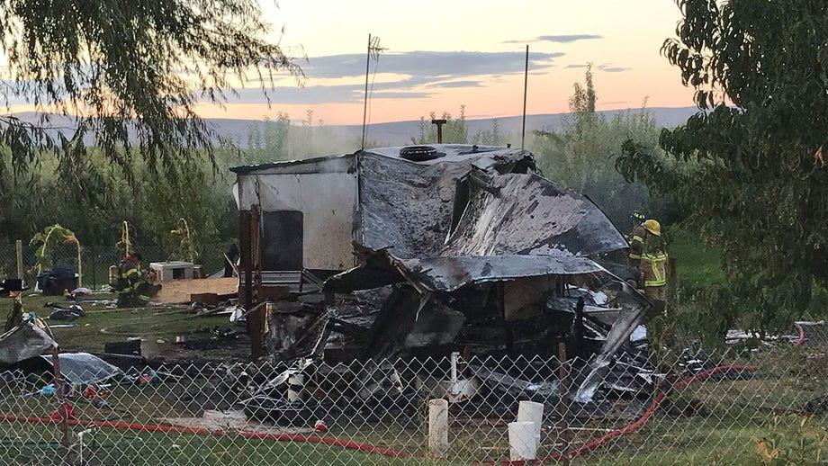 Washington man 'using narcotics' accidentally burns down trailer home trying to get rid of raccoons: deputies