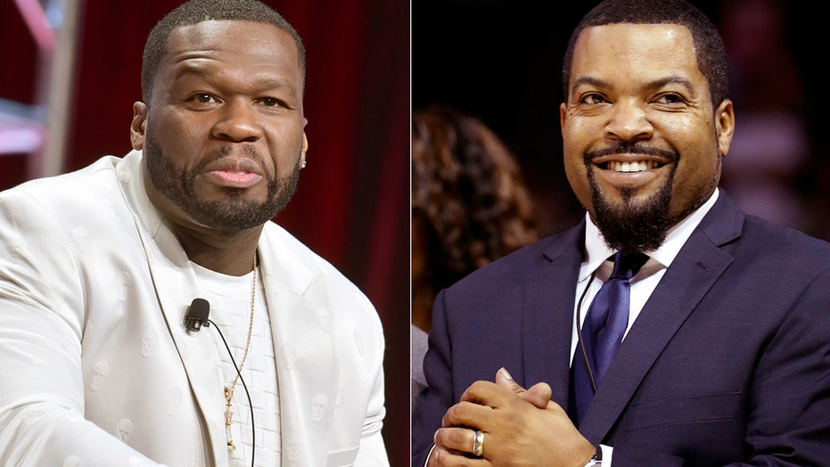 Altered pic of Ice Cube, 50 Cent in 'Trump 2020' hats goes viral