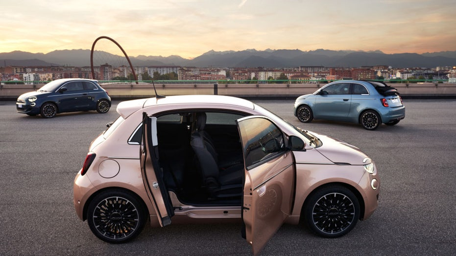 Fiat's Electric California Cruiser