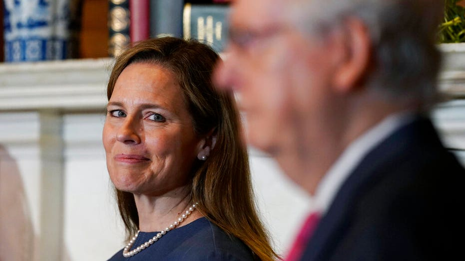 Trump says it'll be 'fast and easy' to confirm Amy Coney Barrett
