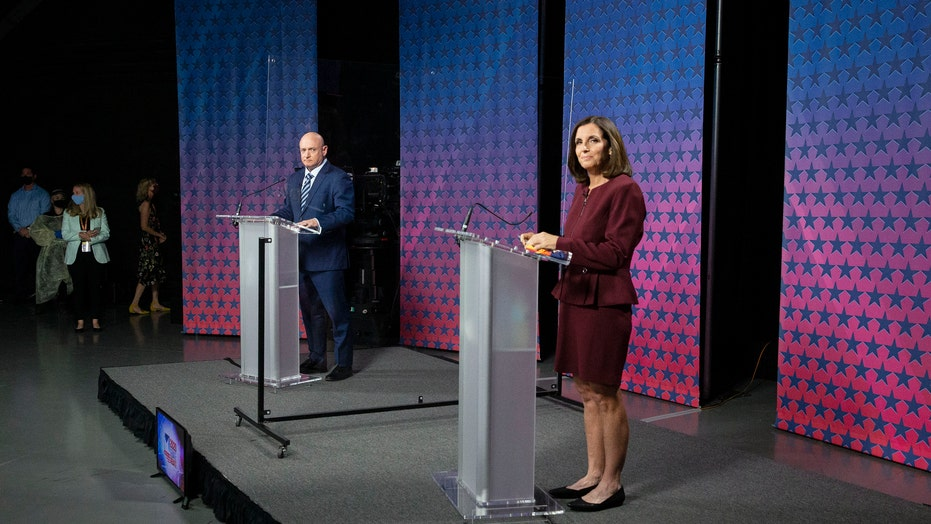 Martha McSally, Mark Kelly spar over Amy Coney Barrett vote in Arizona debate