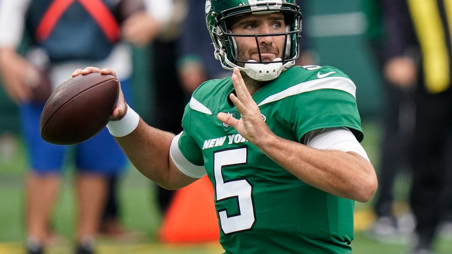 Jets' Flacco to start again for injured Darnold vs. Dolphins