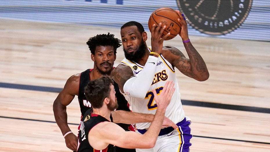 LeBron James leads Los Angeles Lakers to 17th NBA title