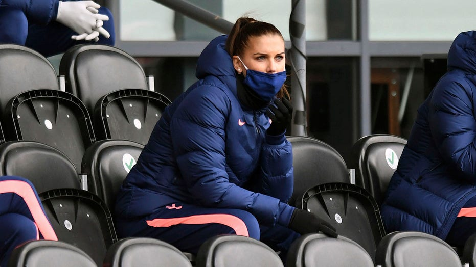 Alex Morgan Eager To Get Started With Tottenham Hotspur Dealing With Knee Issue Fox News