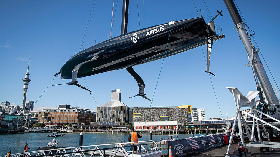 US challenger launches 2nd America's Cup boat in Auckland