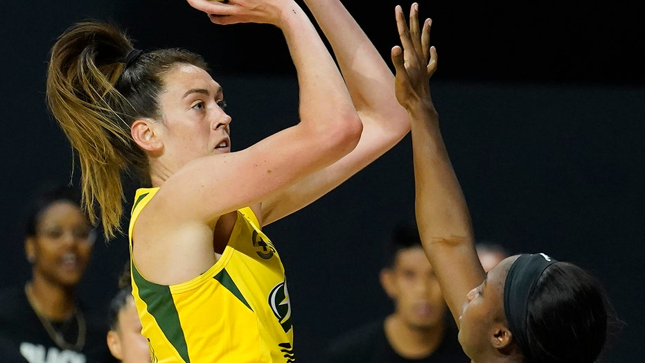 Stewart lifts Storm to Game 1 WNBA Finals win over Aces