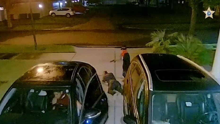 Violent Florida carjacking in front of man's home captured on video
