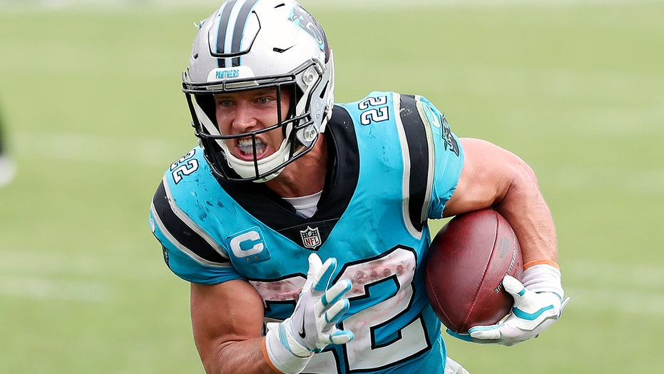 Panthers RB McCaffrey won't play vs Falcons