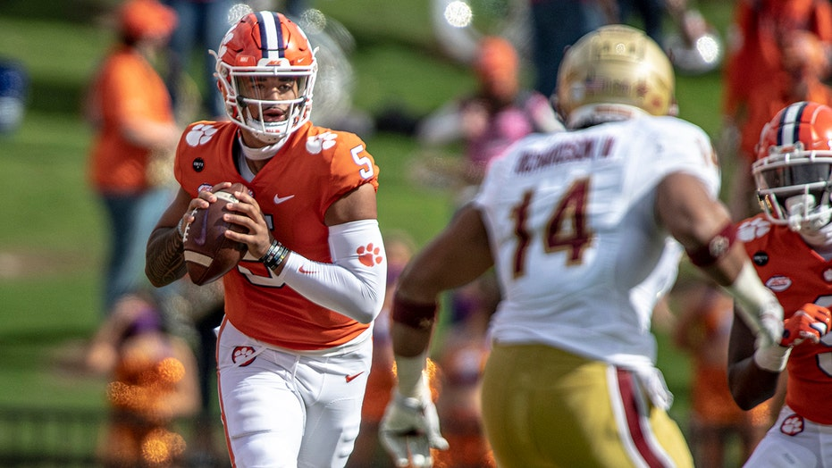 Clemson gets big effort to stave off Boston College upset without Trevor Lawrence