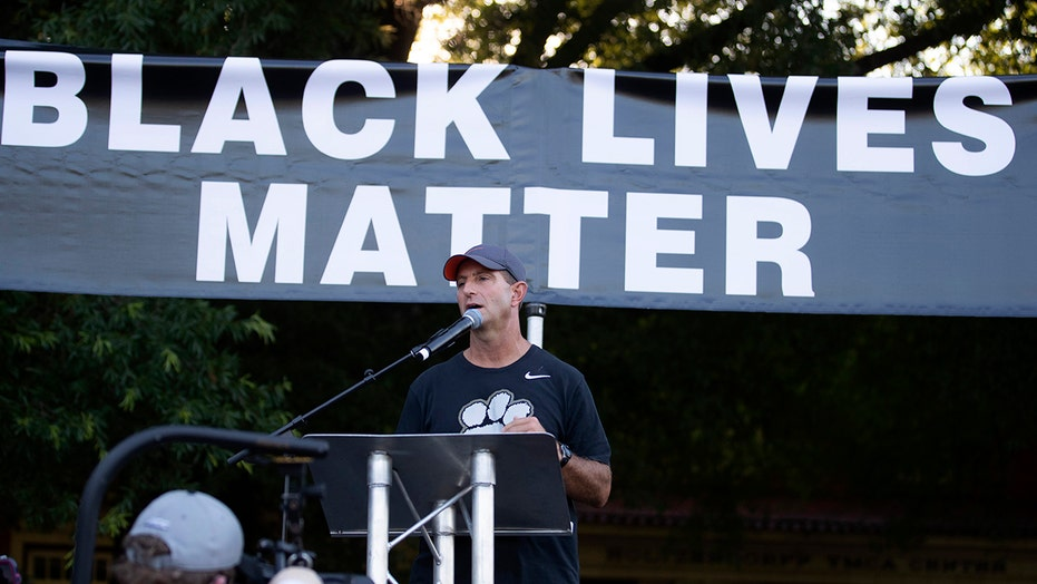Clemson's Dabo Swinney 'on board' with Black Lives Matter message, not political organization