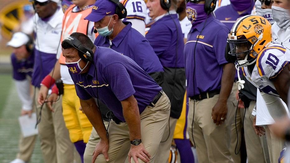 LSU to start true freshman in place of injured Myles Brennan vs. South Carolina