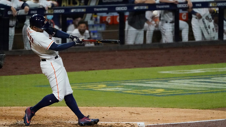 Springer, Altuve homer to keep Astros alive in ALCS