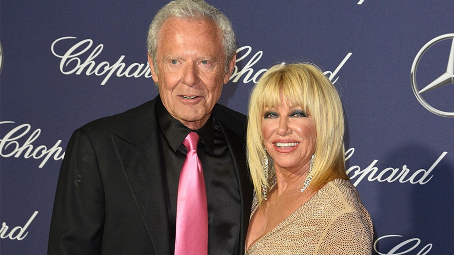 Suzanne Somers reveals she's recovering from neck surgery