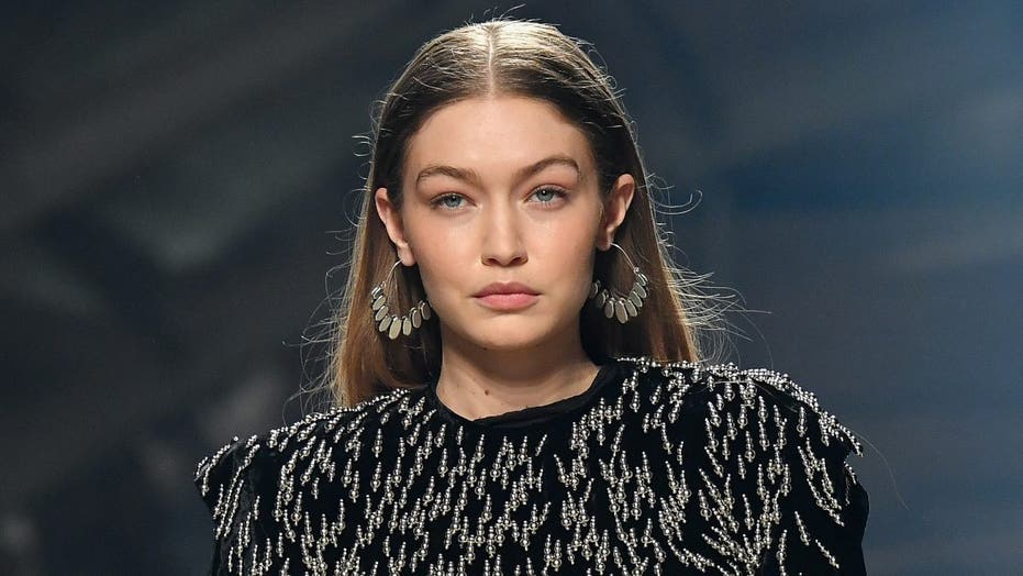 Gigi Hadid shares first photo with 1-month-old daughter in Halloween costume