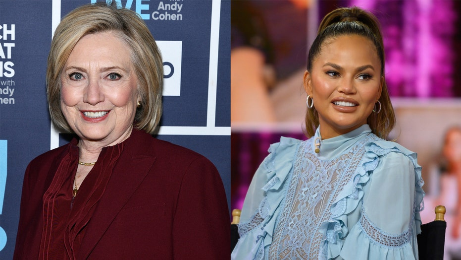 Chrissy Teigen 'honored' by Hillary Clinton sharing her essay on pregnancy loss