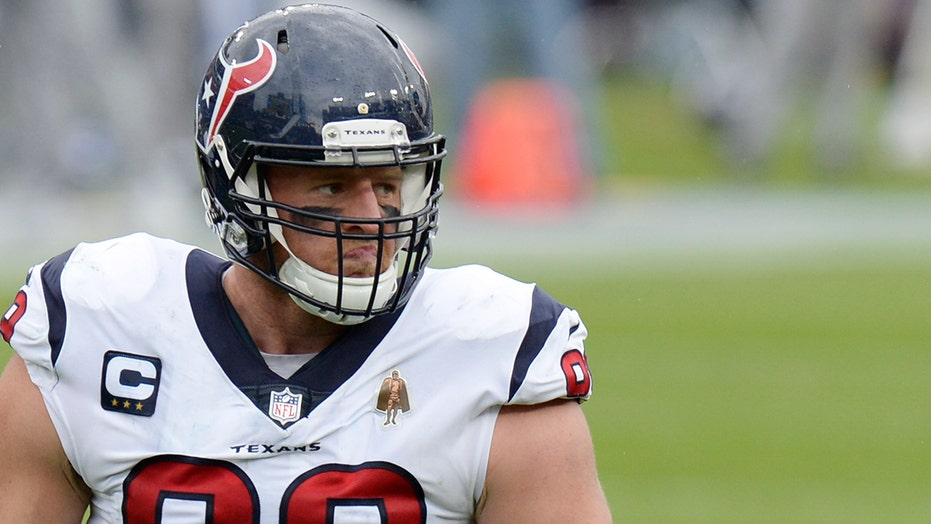 Texans' J.J. Watt focused on Super Bowl goals as trade rumors swirl