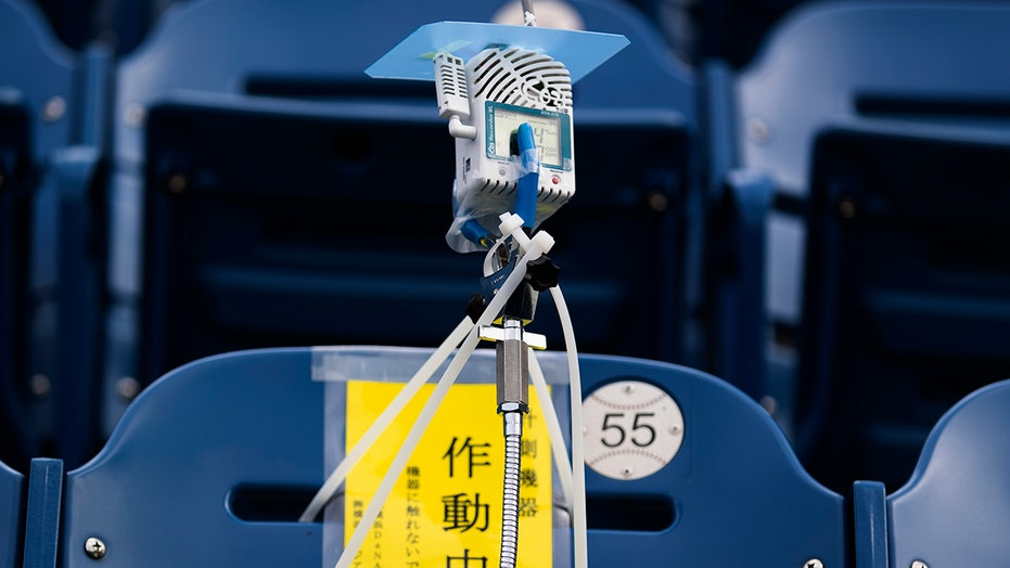 Japan uses high-tech experiments to fill baseball stadium