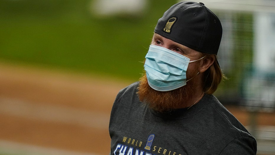 MLB admits some fault in handling Justin Turner's celebrating with COVID