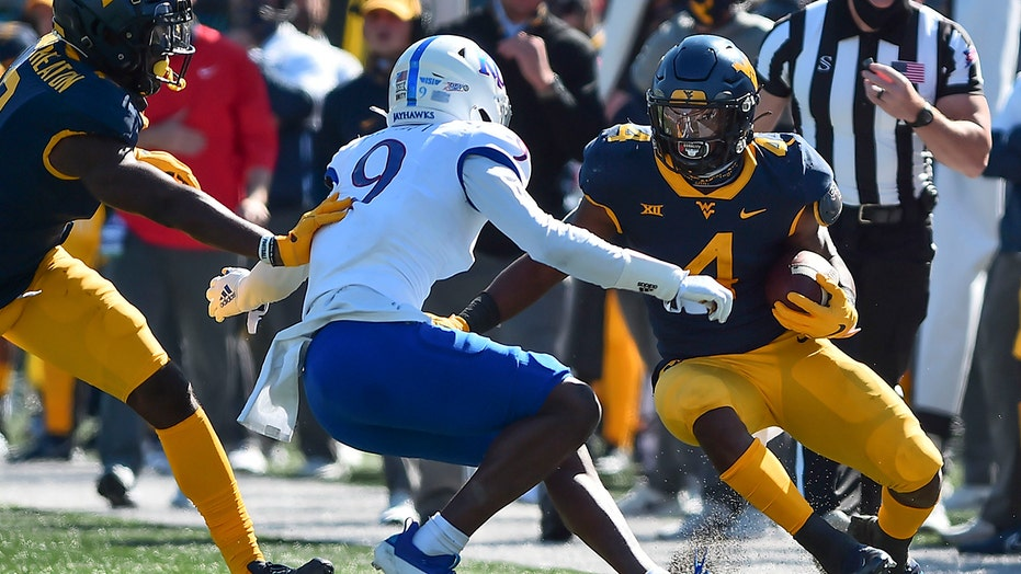 Leddie Brown, Doege lead West Virginia over Kansas 38-17