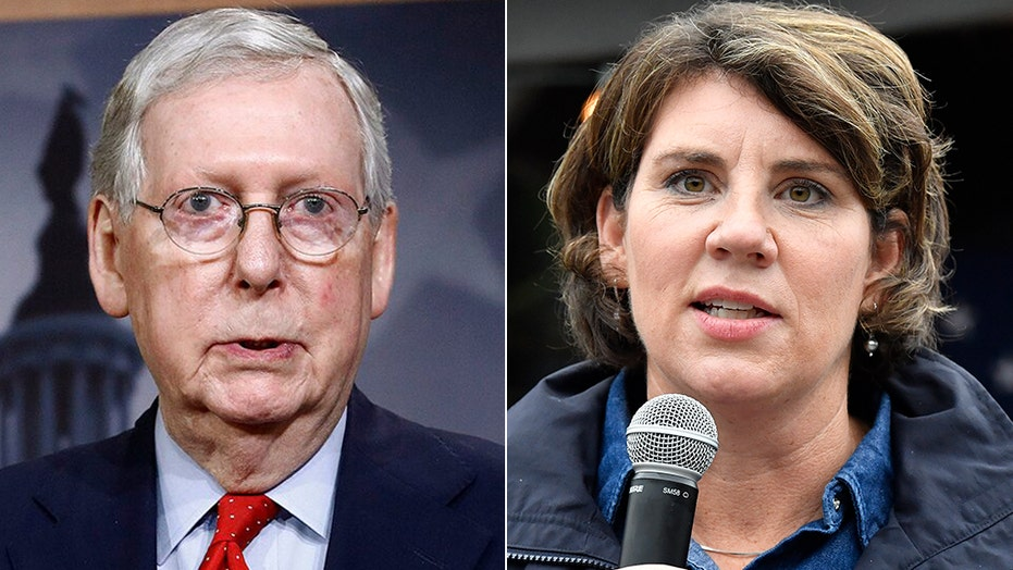 Kentucky Senate race: Sen. McConnell projected to fend off challenge from Democrat Amy McGrath