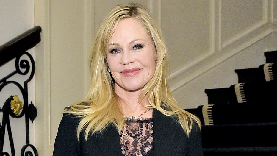 Melanie Griffith, 63, shows off age-defying figure for breast cancer awareness
