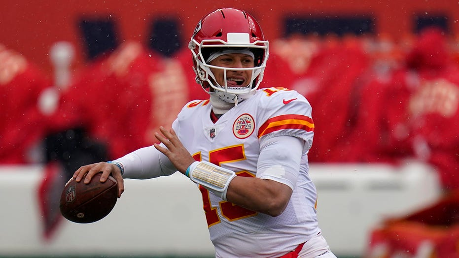 Patrick Mahomes is a trick-or-treater's dream
