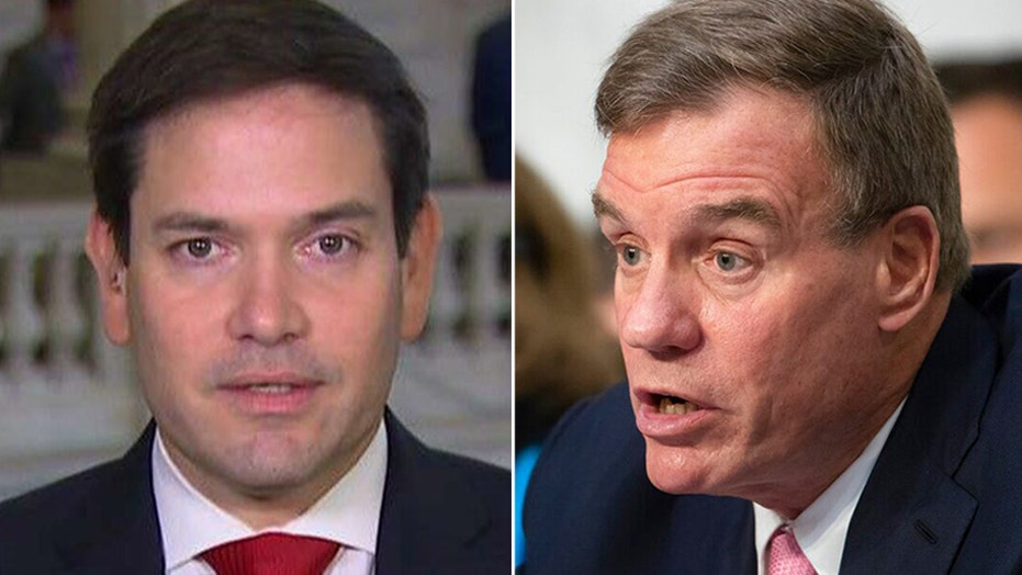 Senate Intel leaders Rubio, Warner issue joint statement on foreign threat to US elections