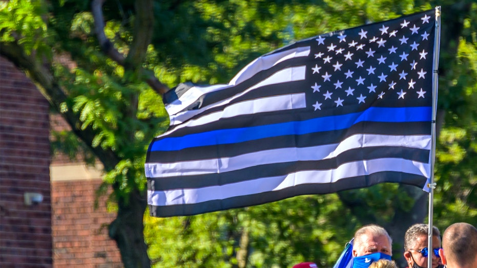 Seattle grandparents with 'Thin Blue Line' flag targeted in drive-by shooting, police say