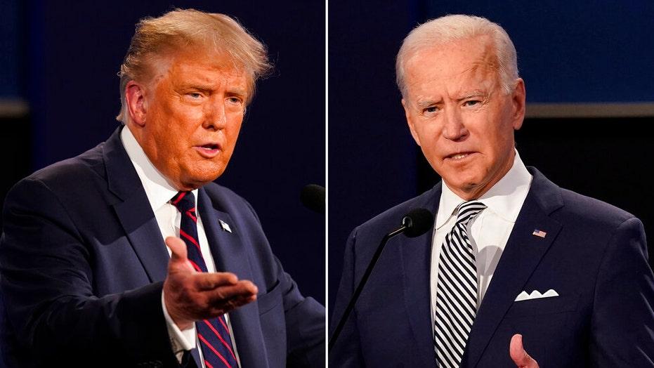 Trump, Biden funnel ad dollars into key battlegrounds in final stretch