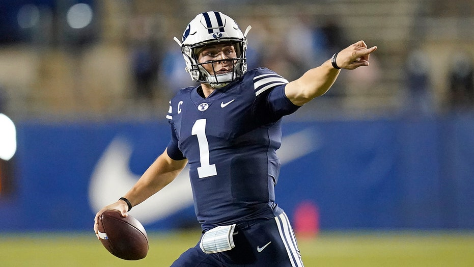 Jets urged to avoid drafting BYU's Zach Wilson in snarky column: 'Give the kid a break'