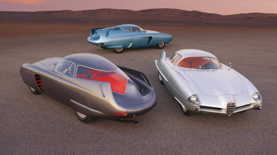 3 classic Alfa Romeo BAT-mobiles sold for $  14.8M