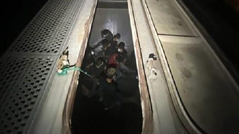 Border Patrol finds 27 illegal immigrants trapped inside train cars in Texas