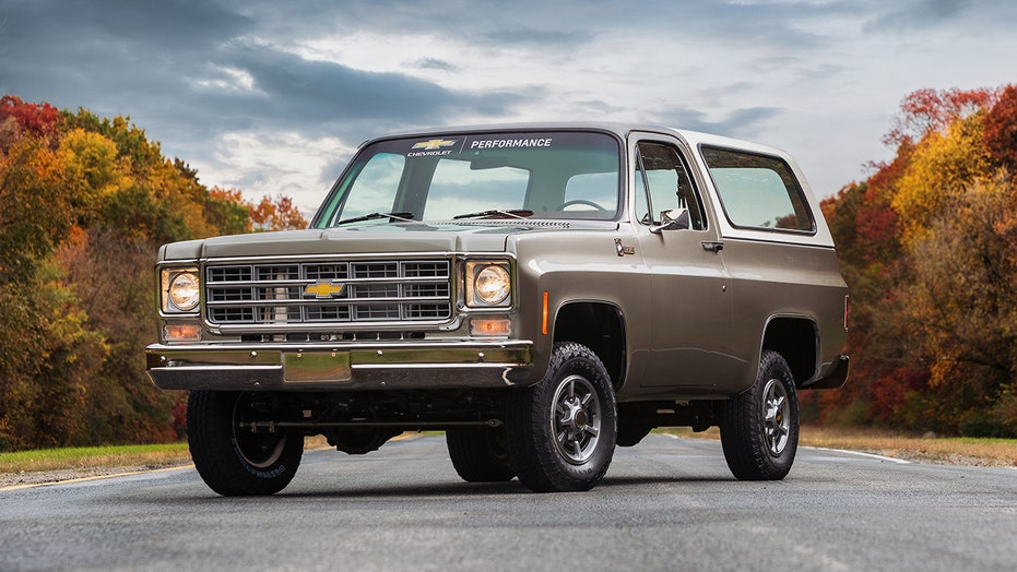 Chevy's electric 1977 K5 Blazer is the classic truck of the future