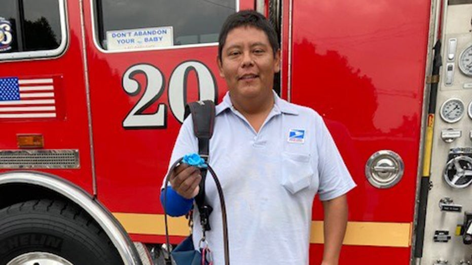 Los Angeles area mailman uses belt to save man injured in chainsaw accident: 'Everyday hero'