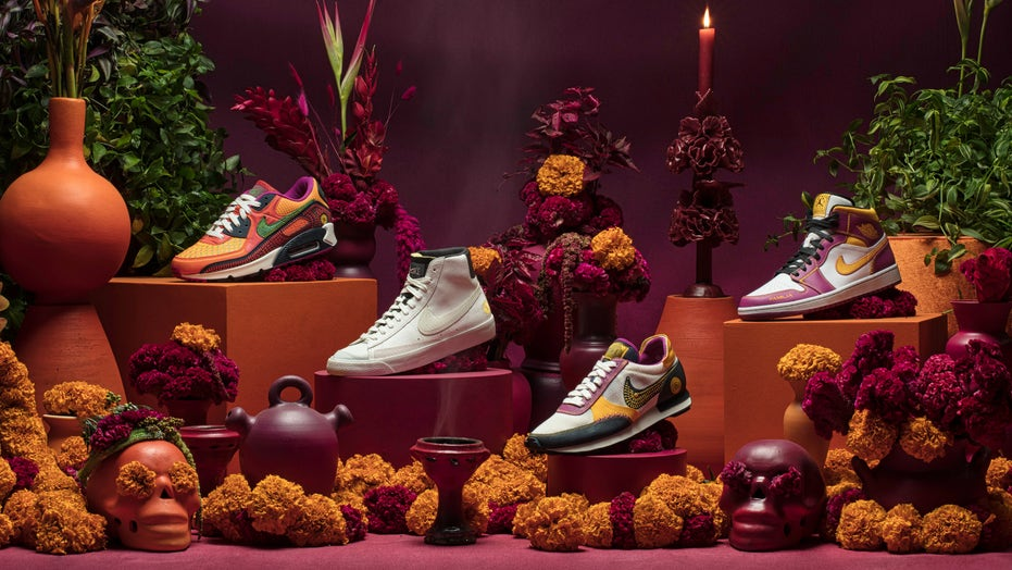 Nike launches Dia de Muertos collection with 4 shoe styles, other apparel