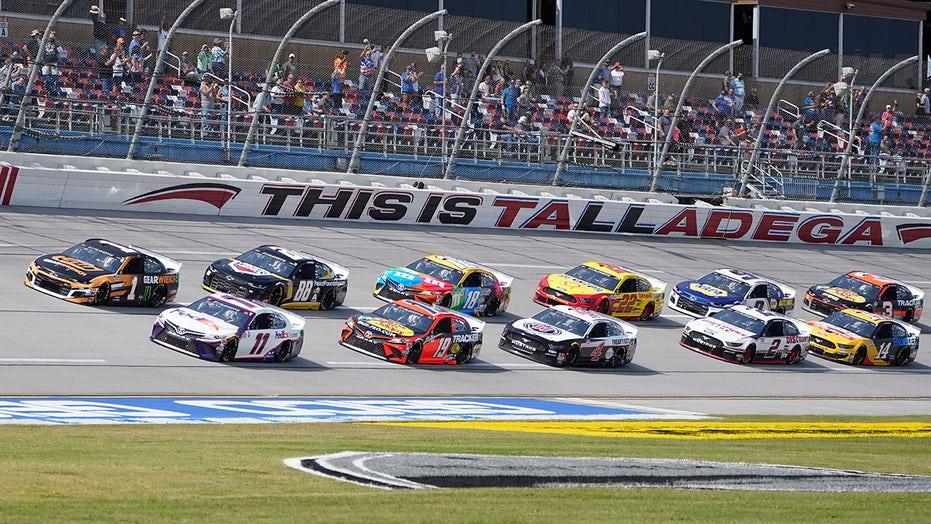 NASCAR playoffs: Denny Hamlin wins Talladega wreck-fest