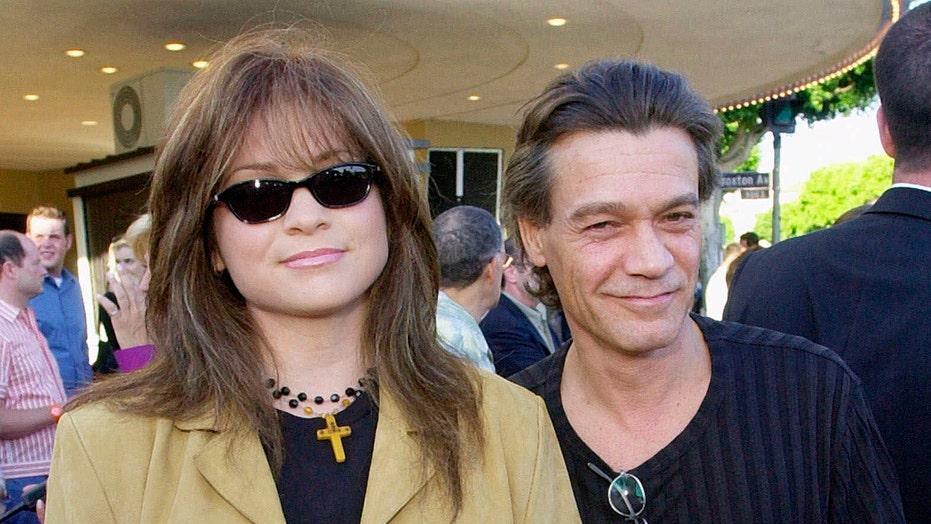Valerie Bertinelli posts throwback photos of Eddie Van Halen in tribute after his death