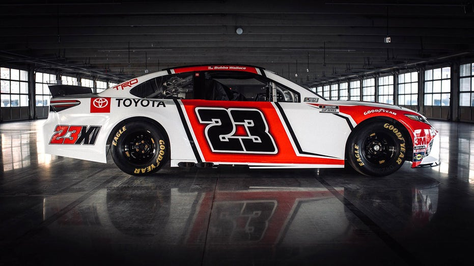 Bubba Wallace reveals Toyota NASCAR car he'll drive for Michael Jordan and Denny Hamlin next season