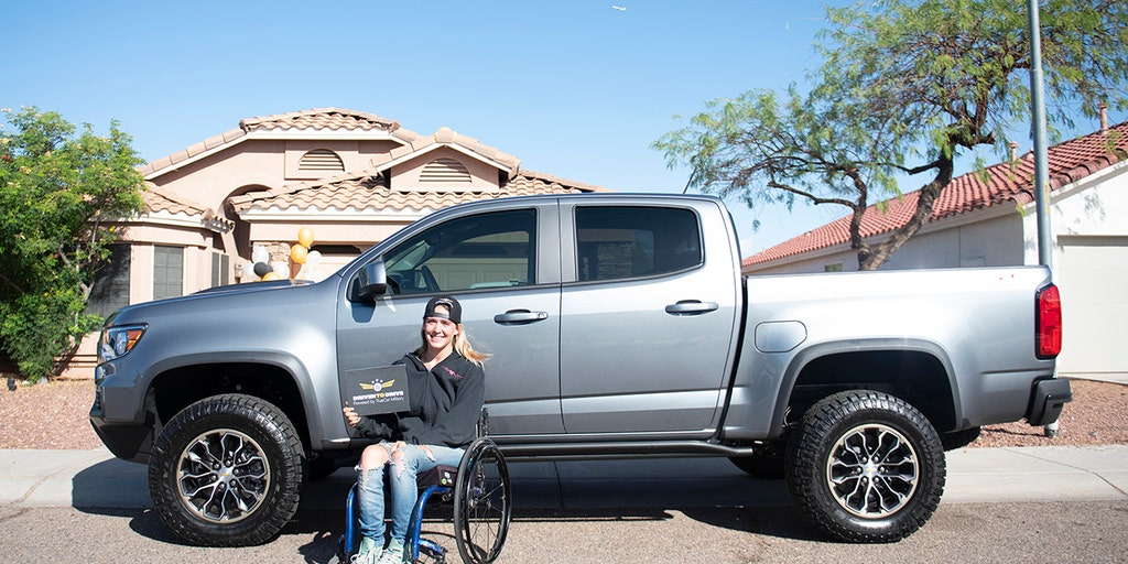 Retired Air Force veteran given new Chevrolet Colorado ZR2 from TrueCar and AutoNation