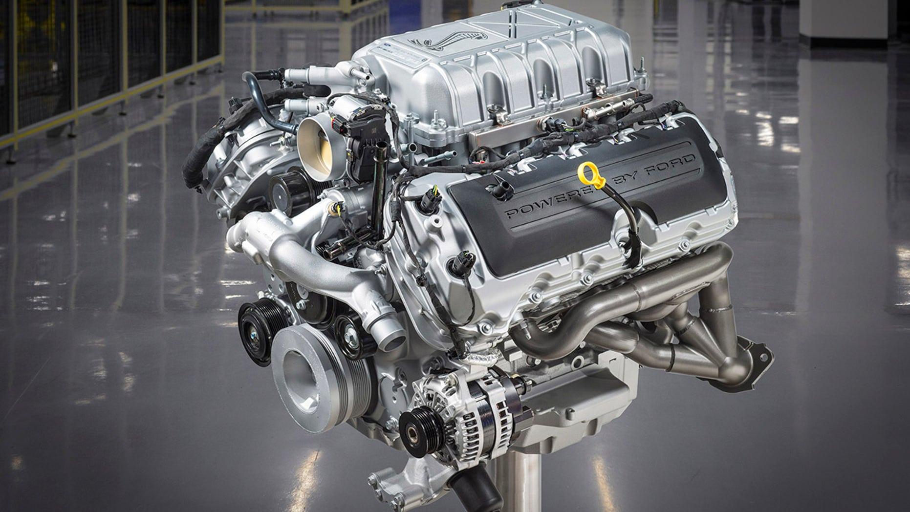 Shelby GT500's Predator V8