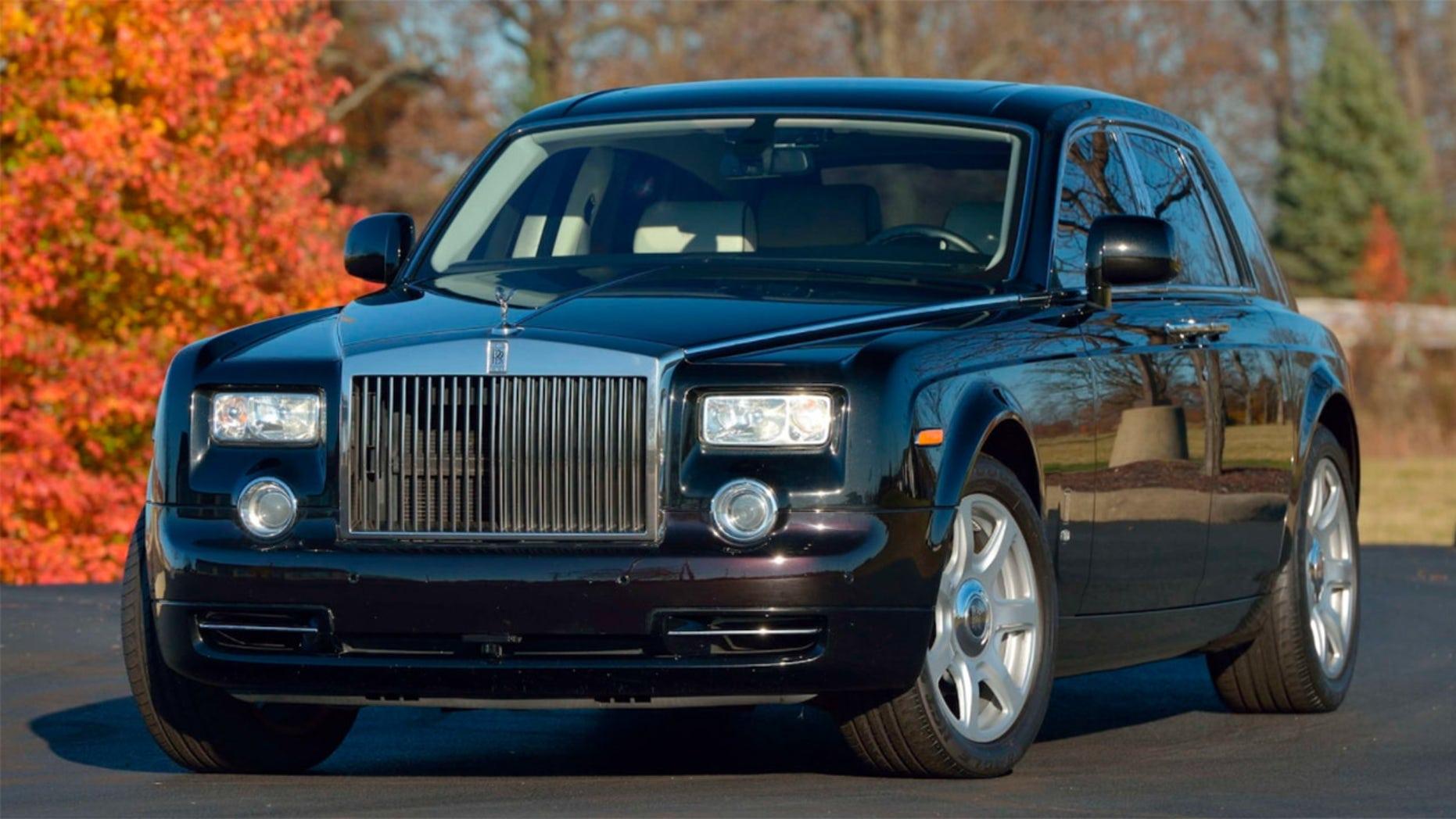 Trump's old Ferrari and Rolls-Royce
