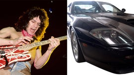 Eddie Van Halen's Ferrari being auctioned