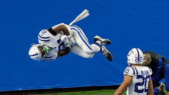 Nyheim Hines' touchdown celebration in Colts win catches eye of Olympic legend